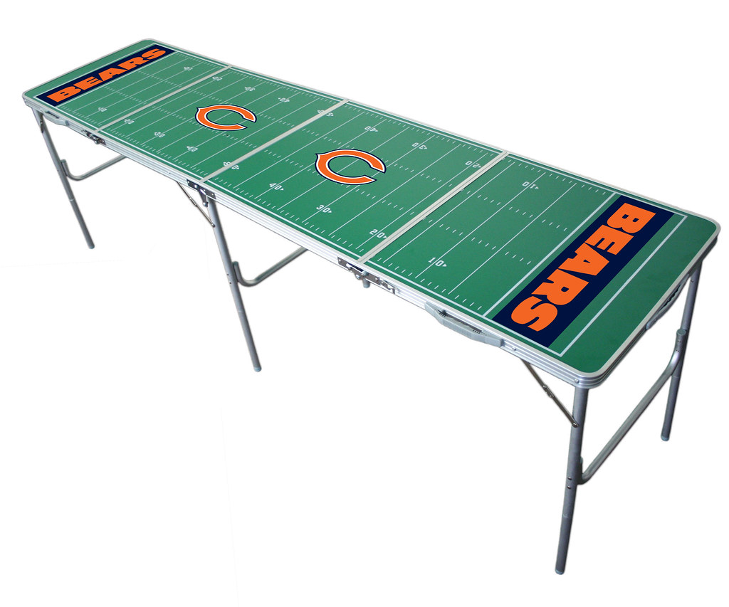 Chicago Bears Tailgating, Camping & Pong Table