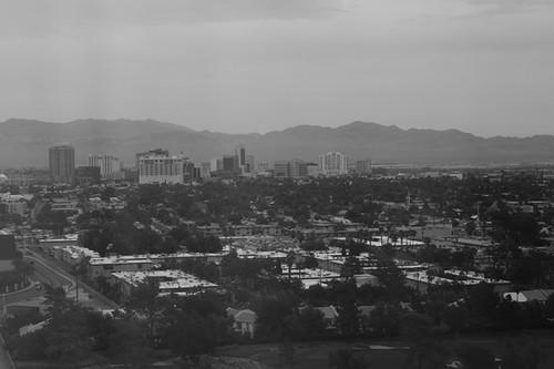 Overcast Las Vegas, Hotel Window