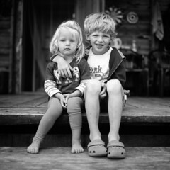 Brotherhood (ted.kozak) Tags: bw 120 film mediumformat square niece nephew rodinal jonas brotherhood lithuania ilfordpanf elze kozak 66 bronicasqa zenzanonps80mmf28 tedkozak tadaskazakevicius