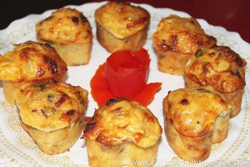 Tortilla de patatas con pimiento y chorizo. (19)