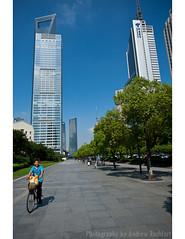 whipped (matteroffact) Tags: china city blue sky tower skyline modern buildings construction nikon asia skyscrapers shanghai jin andrew future mao vista pudong jinmao futuristic d3 highrises puxi lujiazui swfc shanghaiworldfinancialcenter rochfort andrewrochfort