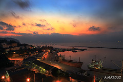 "sunrise on Bejaia Algeria (aziouezmazouz) Tags: sky sunrise algeria amazing beautifulscenery bellissima awesomeshot bejaia vibrantcolours colorphotoaward gueydon ""flickraward"" vividstriking"