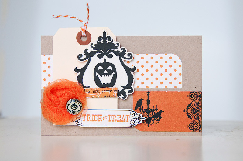 Trick or Treat {card}