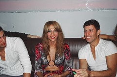 Israeli singer Dana International   at Escuelita Nightclub in New York City USA 2003 (RYANISLAND) Tags: gay les lesbian israel telaviv glbt tgirl transgender lgbt winner jew jewish jews hebrew trans queer diva androgyny israeli genderqueer transsexual eurovision danainternational gays yemenite glbtq androgyne mtf m2f tgirls offernissim transgenders telavivisrael jewishgirl lgbtq genderidentity jewishwomen sharoncohen bigender jewishwoman djoffernissim jewishsinger bibisexual hebrewsinger djayoffernissim yaroncohen