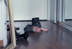 Keep Walking (C or Lie) Tags: feet painting foot magritte
