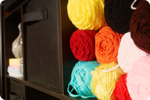 {september} on the shelf | yarn