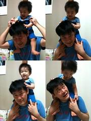 肩車 (2011/9/17)