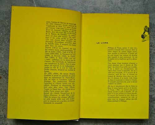 Colette (Sidonie-Gabrielle), Le blé en erbe; Club des éditeurs, (Flammarion), Paris 1956. p. 6 e 7 (part.), 1
