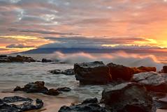 Evening Light (mojo2u) Tags: ocean sunset beach hawaii maui napili nikond700 nikon28300mm