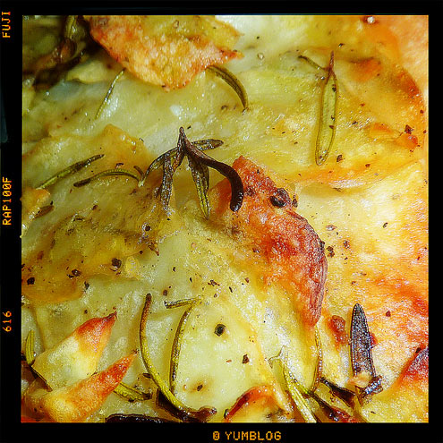 Rosemary Potato Pizza