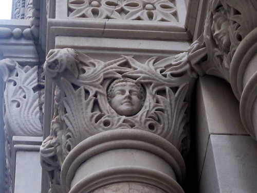 Building Cherub Ornament