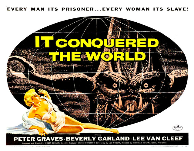 Albert Kallis - It Conquered the World (American International, 1956) Half Sheet