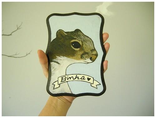 Binha the squirrel