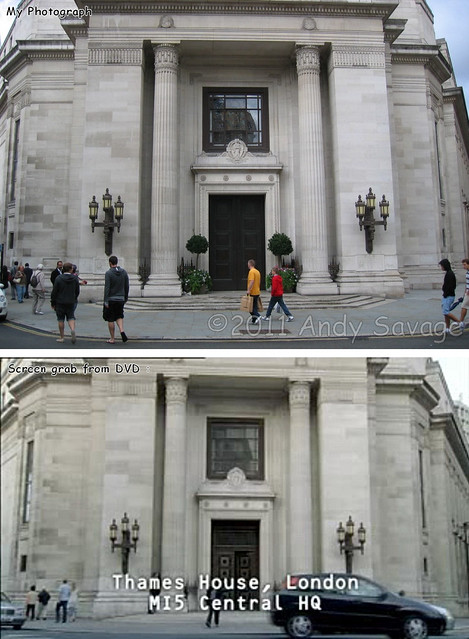 Filming location for Spooks TV series.