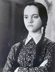 Christina Ricci as Wednesday Addams.