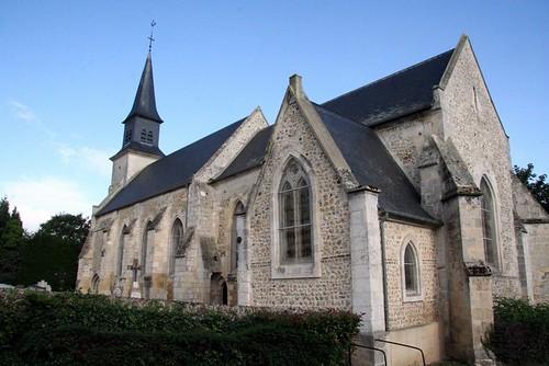 Berville - Church Building