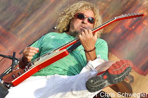 Sammy Hagar - 08-12-11 - Comerica Park, Detroit, MI