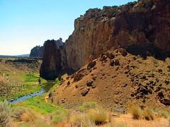 Smith Rock (Anomieus) Tags: statepark park trip usa oregon landscape desert state scenic dry rockclimbing smithrock