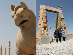 persepolis - iran (Emmanuel Catteau photography) Tags: old city sculpture history stone gate king photographer iran god report unesco national planet lonely geo archeology province geographic persepolis perse fars catteau wwwemmanuelcatteaucom