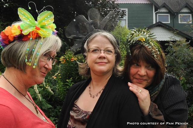 A fascinating display of fascinators at Fling