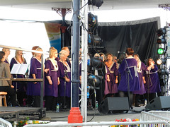 Bray Gospel Choir at Bray Summerfest 2011