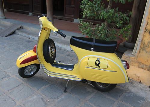 Che Guevara Vespa Scooter - 2