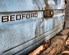 Name from the past (benandserena) Tags: abandoned rascal bedford decay derelict bedfordrascal redynamix