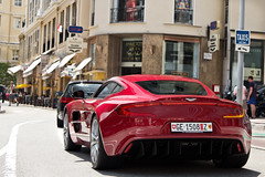 One Seven Seven. (Alex Penfold) Tags: auto camera red france cars alex sports car sport mobile canon french photography eos one photo cool flickr riviera martin geneva image awesome flash picture super spot monaco exotic photograph spotted hyper z carlo cote monte ge 77 supercar aston spotting numberplate exotica sportscar sportscars supercars penfold dazur 1508 spotter 2011 hypercar 60d hypercars one77 alexpenfold ge1508z