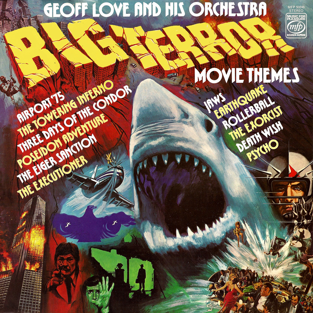 Geoff Love - Big Terror Movie Themes