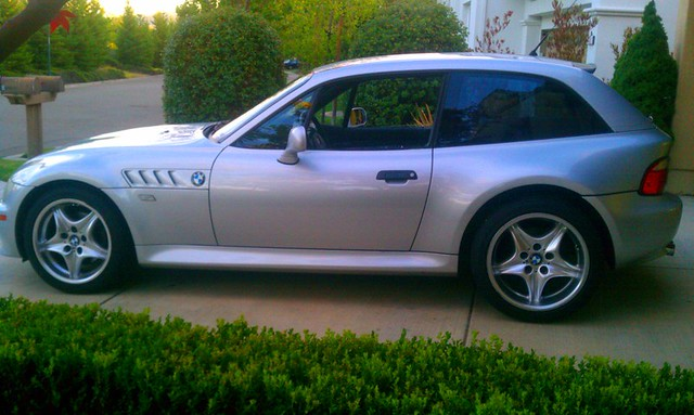 2001 Z3 Coupe | Titanium Silver | Black | E368 with Style 40 Roadstars