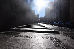 take me away (my lala) Tags: madrid street light away flare