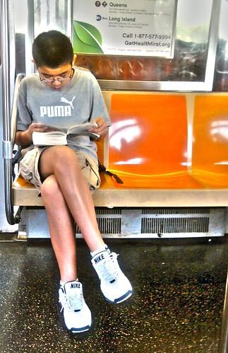 boy-reading by feliks kogan