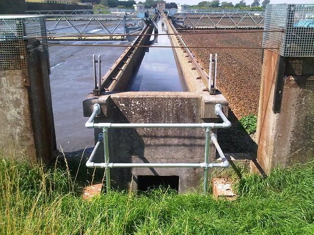Kee Klamp Railing at Canwick Sewage Treatment Works