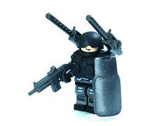 Heavy Trooper ([N]atsty) Tags: black metal flesh silver lego awesome super hazel figure ba heavy epic overload gunmetal figue brickarms