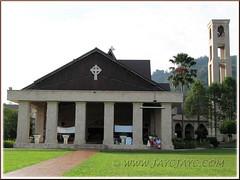 St. Anne's Church, Bukit Mertajam: front view