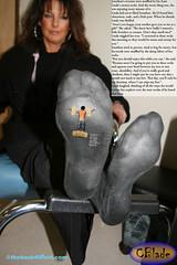 CBieEvilAunt01 (gtsblade) Tags: feet socks foot sock squish crush giantess gts shrink shrunkenman