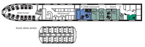 private rail car rental luxury train travel usa