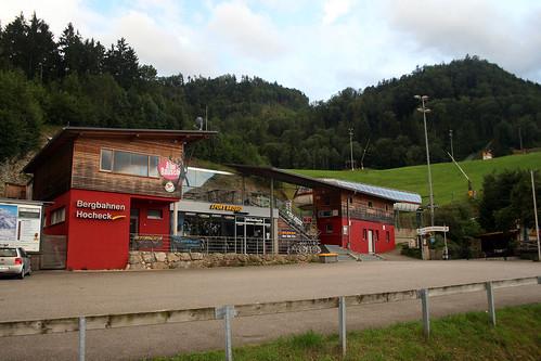Talstation Bergbahn Hocheck