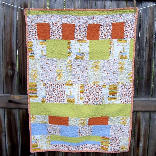 Far Far Away Quilt - green