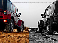 Jeep WRANGLER () Tags: street city red paris rio bar marina mall de foot mercedes benz lyrics big al nikon janeiro gulf desert jeep 4x4 chocolate g class safari raptor toyota land cherokee kuwait arabian hummer h1 h2 888 fm fj unlimited ras cruiser swat salmiya svt q8 avenues wrangler beyonce                    blajat      street  azizcesc