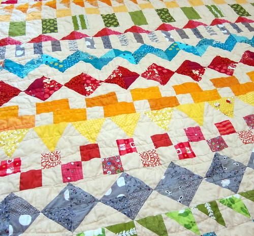fair isle baby quilt