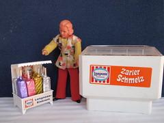 1970er Langnese Eistruhe für den Kaufladen
