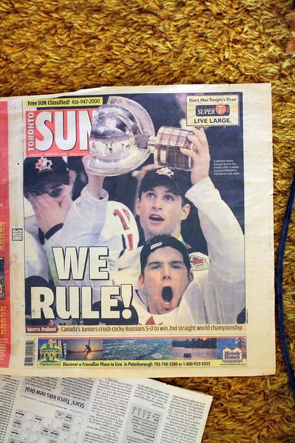 WE RULE!