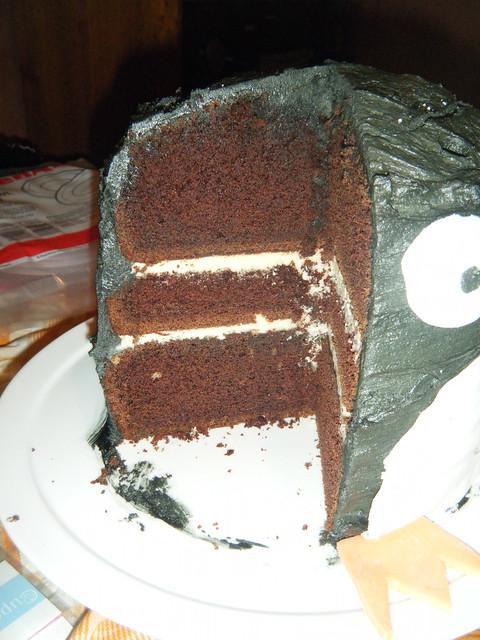 Mum's Pingu Cake