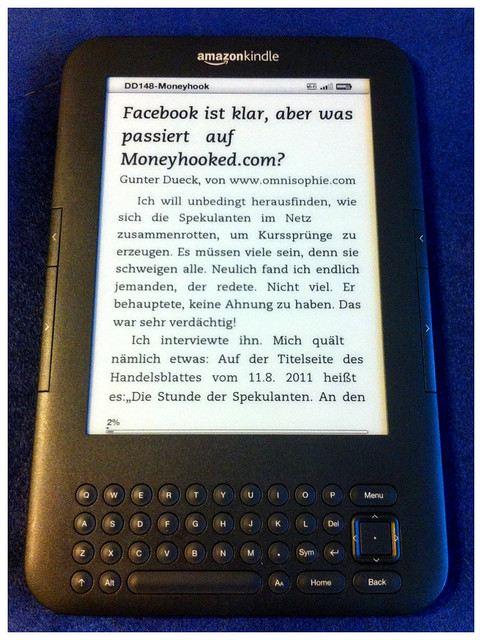 Daily Dueck Nr. 148 auf dem Amazon Kindle