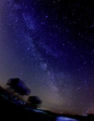 summer night color (davedehetre) Tags: road light summer sky selfportrait night clouds painting way stars landscape haze tank diesel atmosphere astrophotography kansas milky fuel constellation milkyway saggitarius nebulosity Astrometrydotnet:status=failed Astrometrydotnet:id=alpha20110844056398
