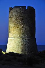 Torre San Giovanni Posada (Michy84) Tags: sardegna panorama landscape la nikon san mare torre blu pietre porto rocce acqua colori posada spiaggia vr giovanni monti celeste spiagge orosei nuoro 1685 cristallina ciottoli siniscola d300s calettasan