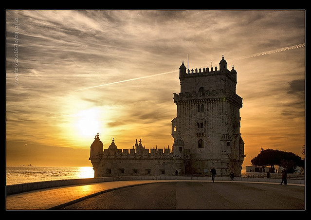 Sunset in Belem