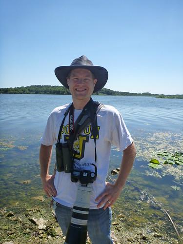 Me at Shabbona Lake State Park