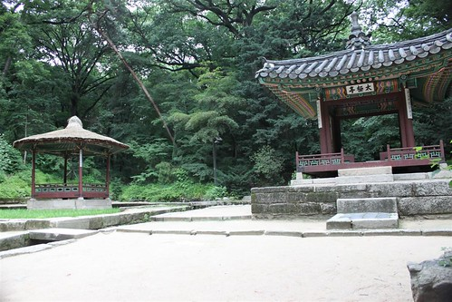 Ongnyucheong and vicinity at Secret Garden, CHangdeokgung Palace, Seoul South Korea